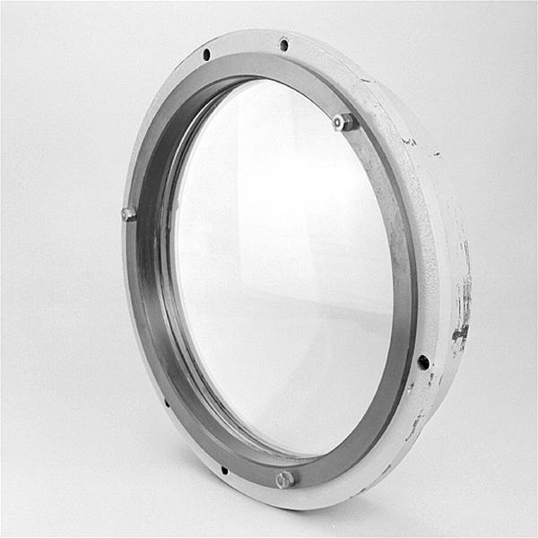 Instrument d'observation (objectif de l'équatorial coudé)