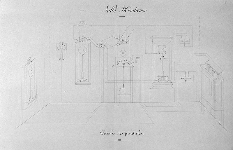 Instrument de mesure du temps et d'enregistrement (chronographe Prin)