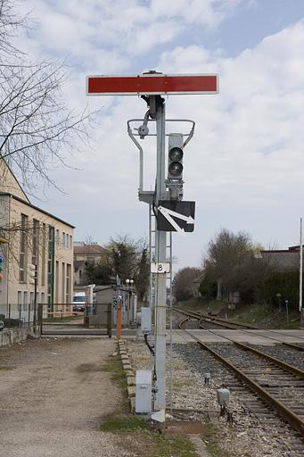 2 signaux mécaniques (sémaphores)