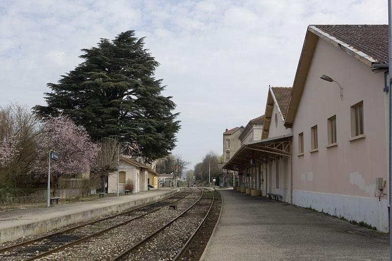 Gare d'Oyonnax (voie ferrée Andelot - La Cluse)