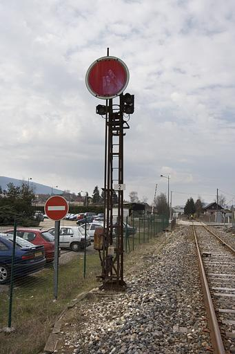 signal mécanique (disque)