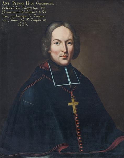 tableau de l'archevêque Antoine-Pierre II de Grammont