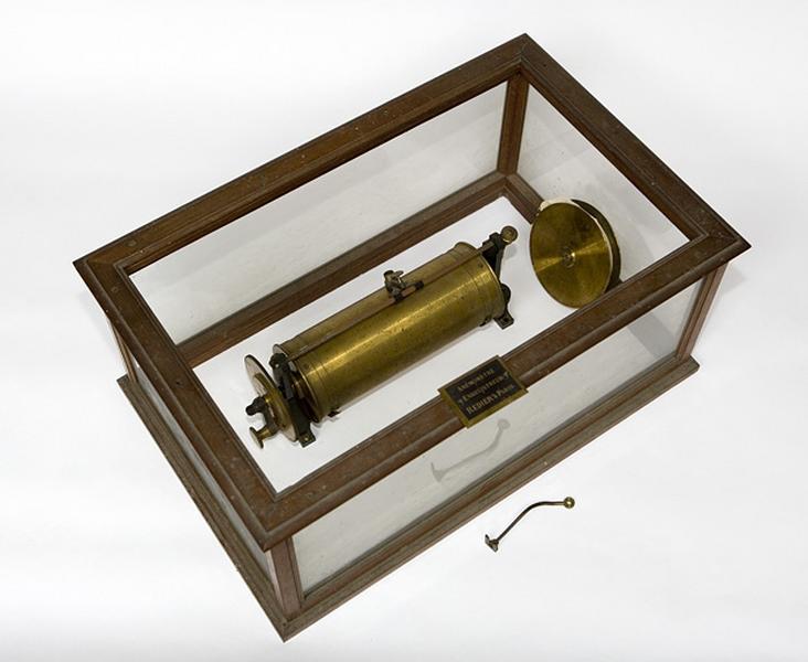 Instrument de mesure et d'enregistrement (anémomètre enregistreur Redier)