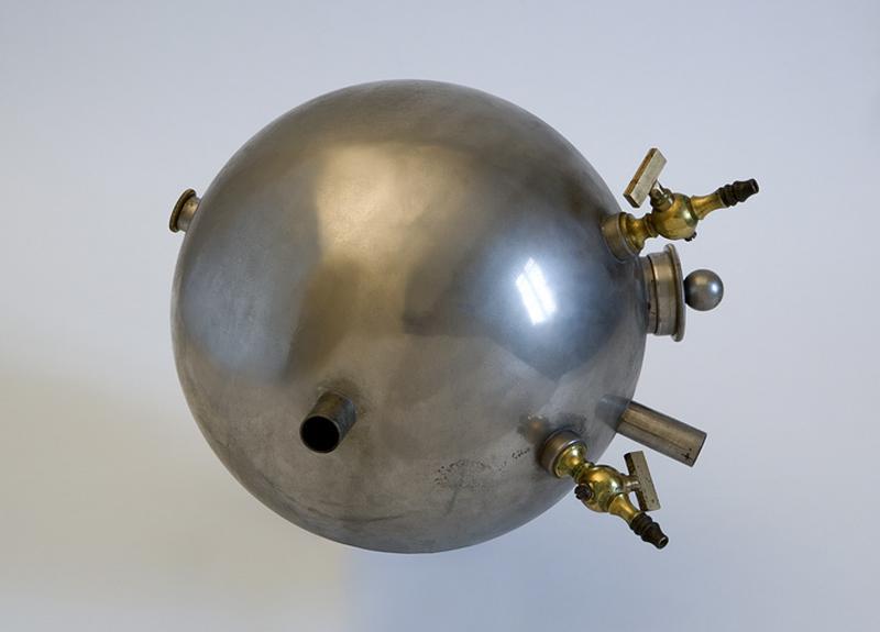 Instrument de mesure des quantités de chaleur (actinomètre dit pyrhéliomètre)
