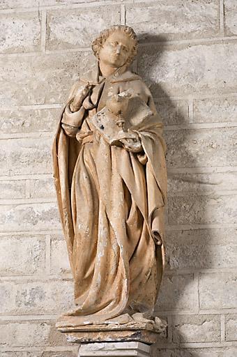 Statue : Saint-Jean l'Evangéliste