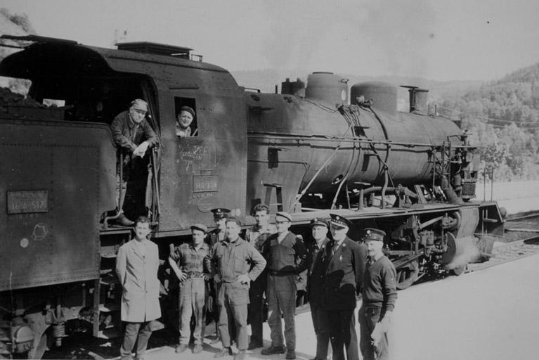 Gare de Morez (voie ferrée Andelot - La Cluse)