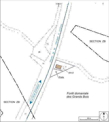 Maison de garde-barrière n° 1 (voie ferrée Andelot - La Cluse)