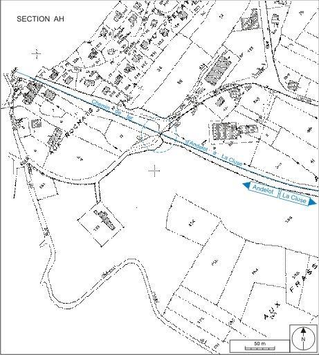 Passage à niveau n° 29 (voie ferrée Andelot - La Cluse)