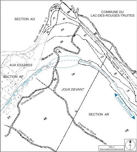 Tunnel dit souterrain de la Joux (voie ferrée Andelot - La Cluse)