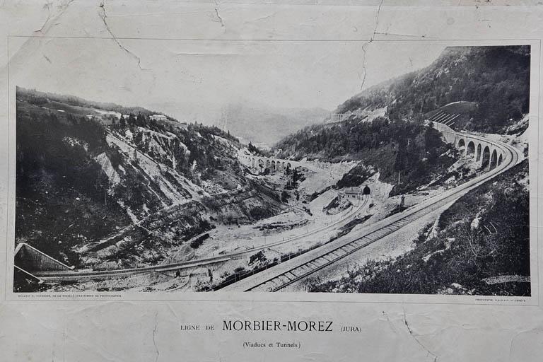 Tunnel dit souterrain des Frasses (voie ferrée Andelot - La Cluse)