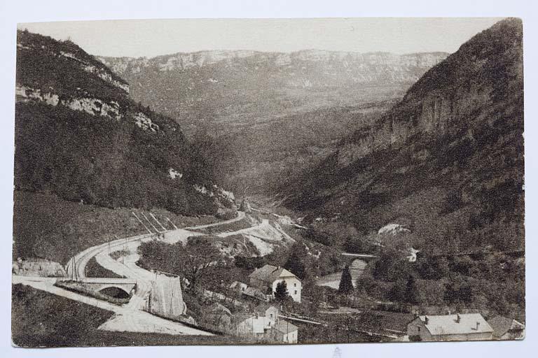4 ponts ferroviaires et routiers (voie ferrée Andelot - La Cluse)
