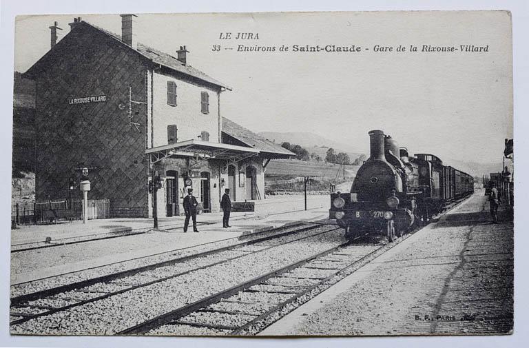 Gare de La Rixouse - Villard (voie ferrée Andelot - La Cluse)