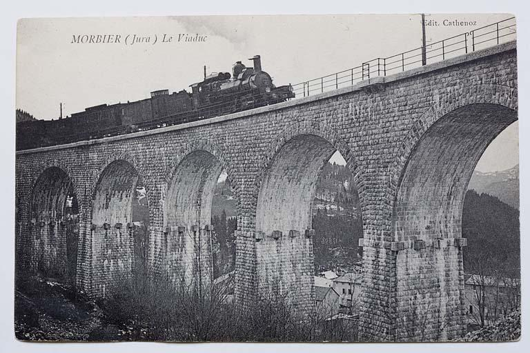 Viaduc de Morbier (voie ferrée Andelot - La Cluse)