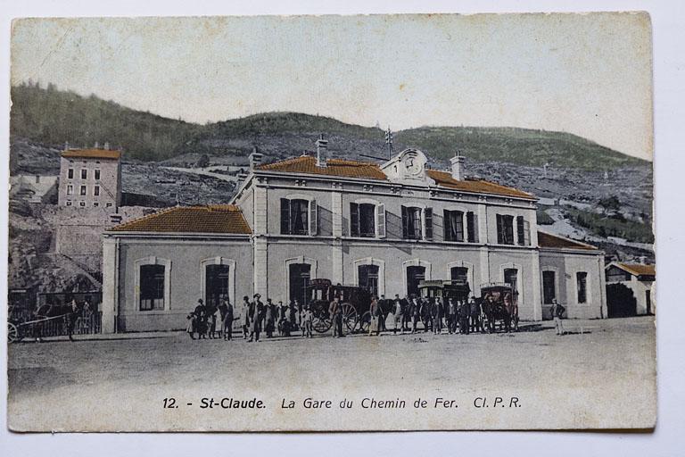Gare de Saint-Claude (voie ferrée Andelot - La Cluse)