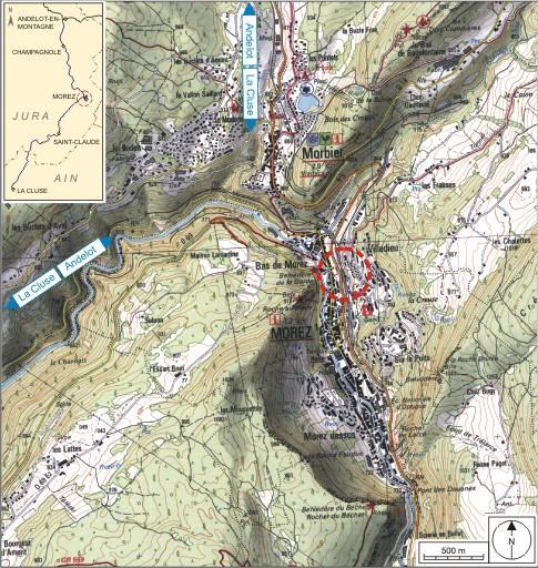 Viaduc de la Source (voie ferrée Andelot - La Cluse)