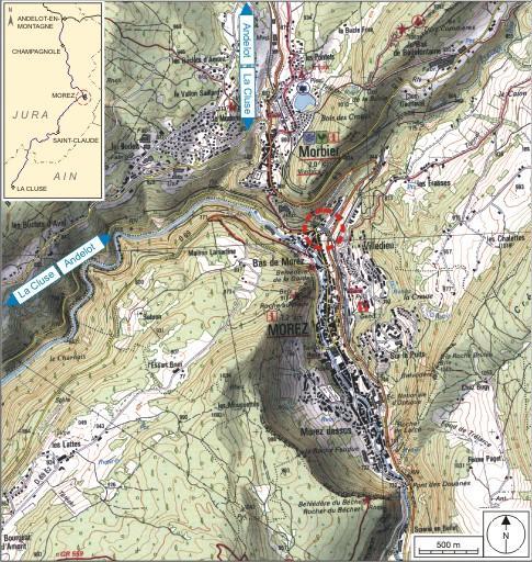 Viaduc de Morez (voie ferrée Andelot - La Cluse)