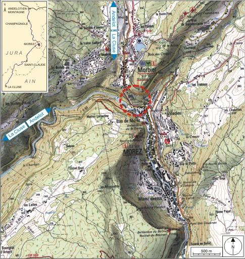 Tunnel dit souterrain des Essards (voie ferrée Andelot - La Cluse)