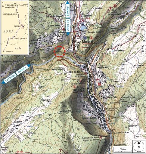Viaduc du Saillard (voie ferrée Andelot - La Cluse)
