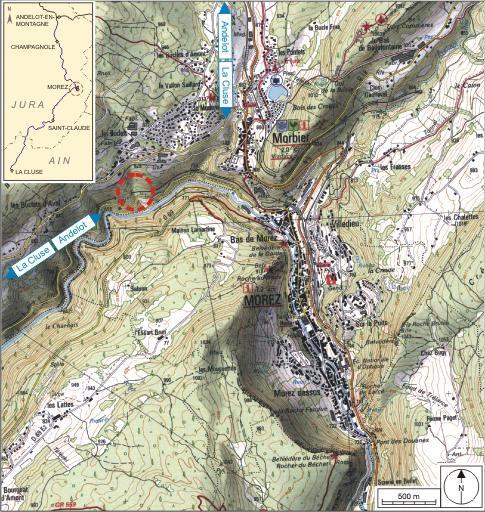 Aqueduc (voie ferrée Andelot - La Cluse)
