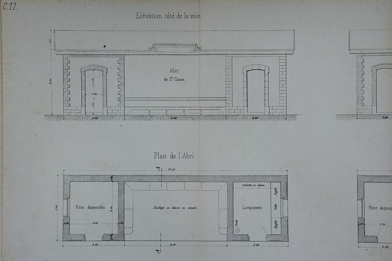 Gares, haltes de voyageurs et maisons de garde-barrière de la voie ferrée Andelot - La Cluse