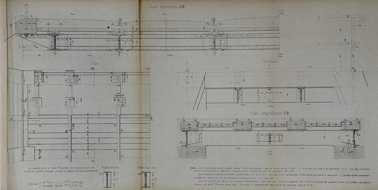 Viaducs, ponts, passerelles et aqueducs de la voie ferrée Andelot - La Cluse