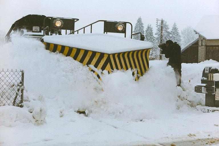 Wagon chasse-neige dit Nevers