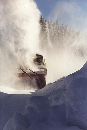 Matériel de transport ferroviaire (chasse-neige Beilhack)