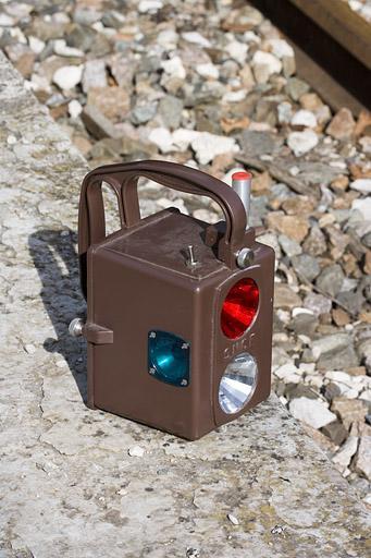 Lanterne d'agent circulation