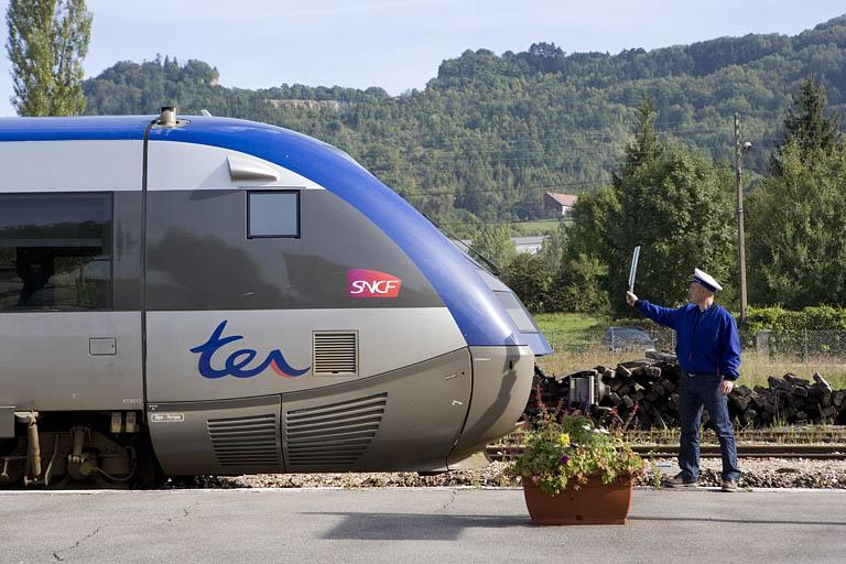 Casquette de chef de service SNCF