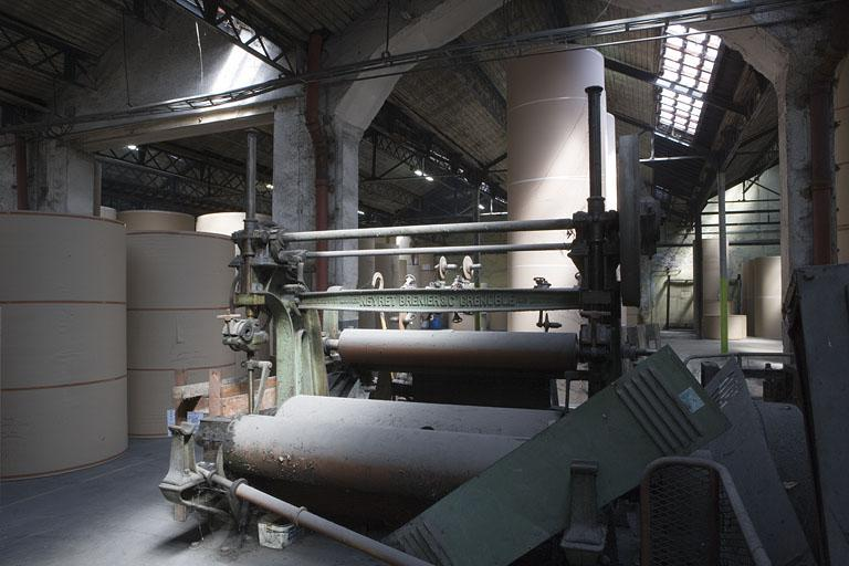 Fabrique de cellulose et usine à papier Jean-Baptiste Weibel et Cie, puis Société Anonyme des Papeteries Bisontines, puis société CENtrale des usines à PApier, puis La Rochette-Cenpa, actuellement Otor-Papeterie du Doubs