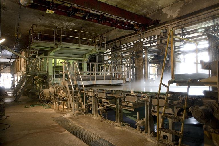 Usine de papeterie Zuber Rieder et Cie, actuellement Papeterie Zuber Rieder et centrale hydroélectrique