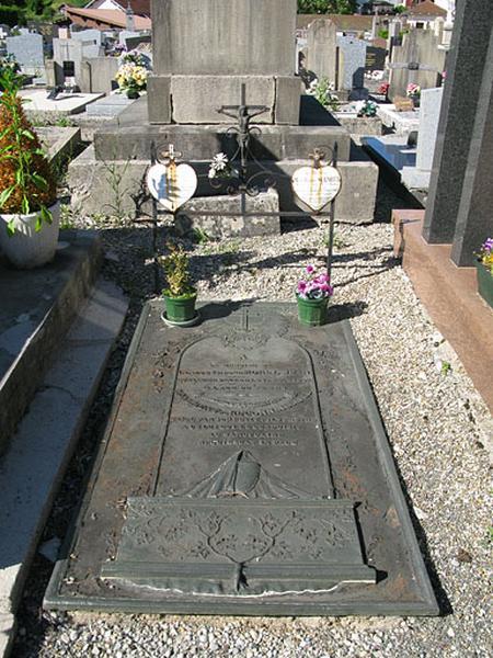 tombeau de Claude-Isidore Morel-Jean