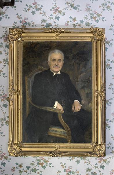 Tableau : portrait de Louis Crestin-Billet