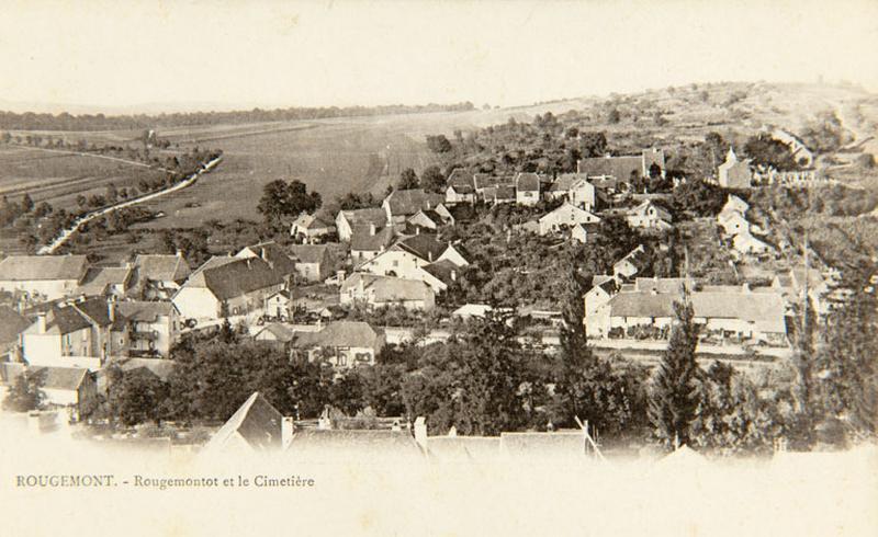 Cimetière et chapelle de Rougemontot