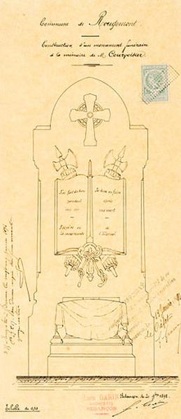 Monument funéraire de Charles Courvoisier