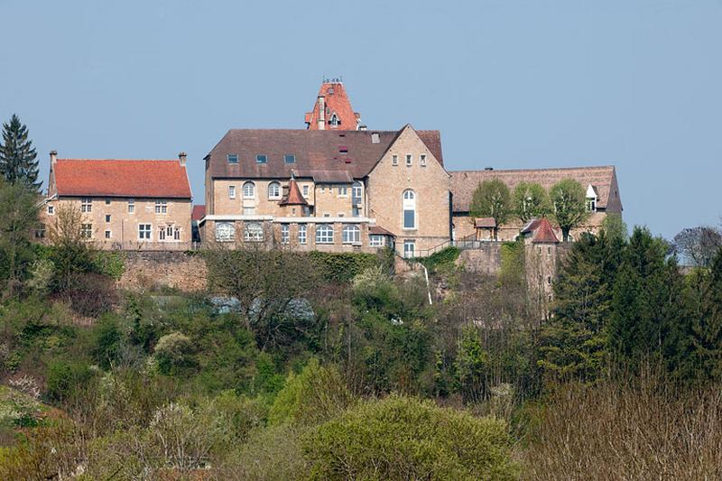 """Couvent de cordeliers et demeure de Philippe de Molans, actuellement institut médico-éducatif """"L'Envol"""" et foyer d'accueil médicalisé """"La Citadelle"""""""