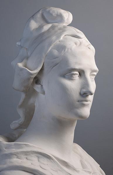 Buste à l'antique Marianne