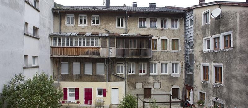 moulin à farine et martinet Clément, actuellement immeuble