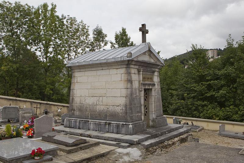 Chapelle funéraire de la famille de Claude Jobez