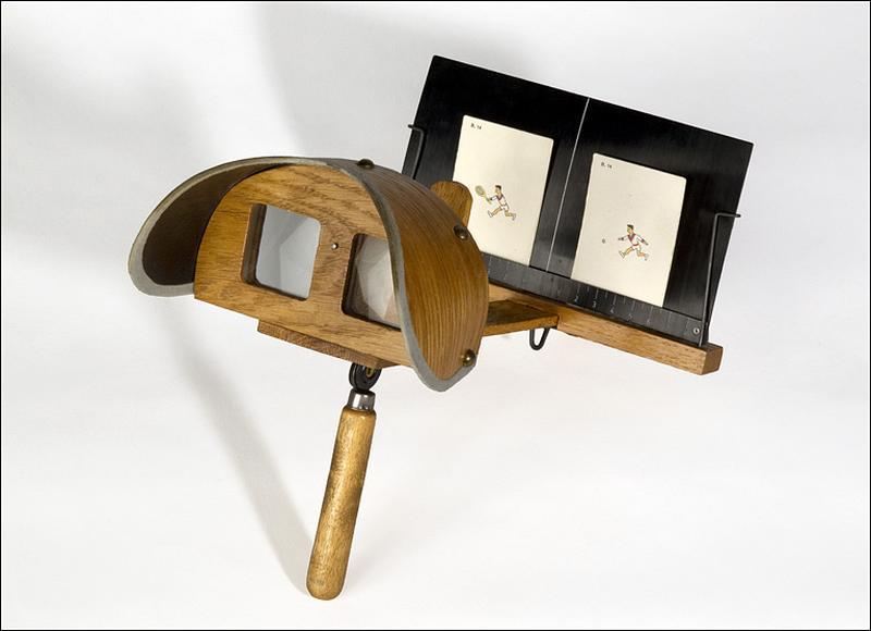 instrument d'observation et d'ophtalmologie (stéréoscope de Holmes)