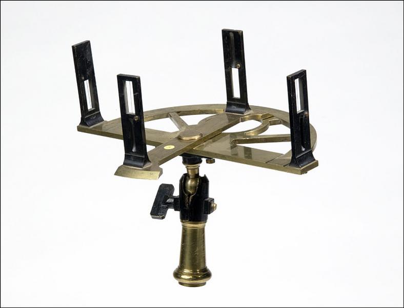 instrument de mesure des angles pour lever des plans (graphomètre)