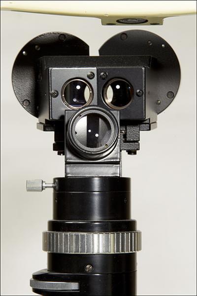 microscope et instrument d'ophtalmologie (biomicroscope dit lampe à fente Neitz)