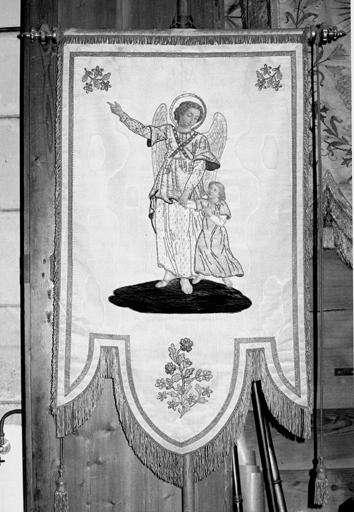 bannière de procession de l'ange gardien