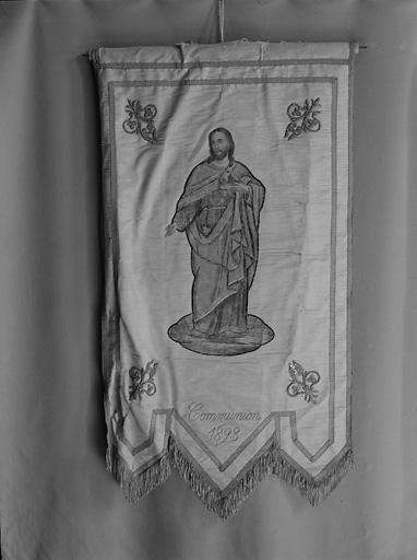 Bannière de procession de la communion 1893