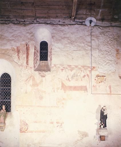 Peinture murale : Vie du Christ réssuscité