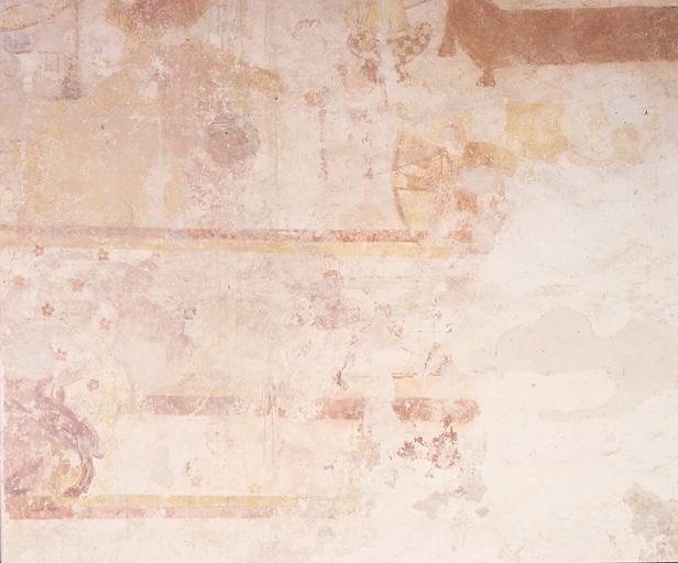 Peinture murale : châsse de saint Gilles