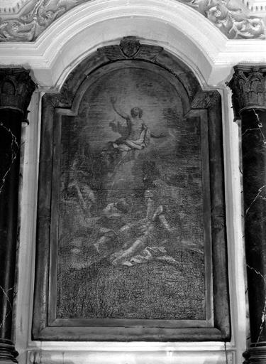 Tableau du retable du maître-autel : Ascension