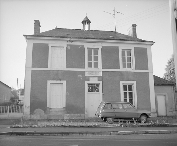 mairie-école, actuellement maison