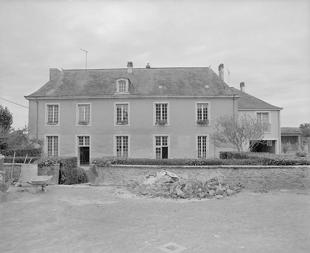 maison, actuellement mairie