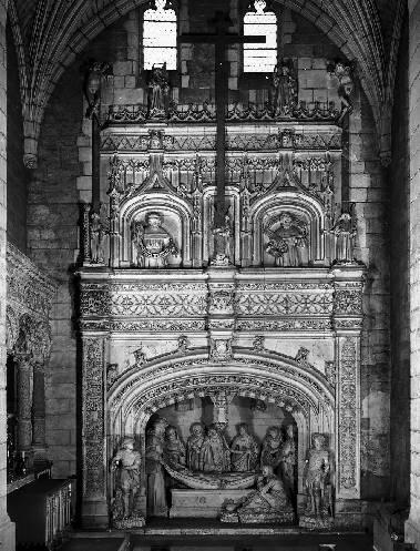 REVETEMENT MURAL de la Mise au tombeau